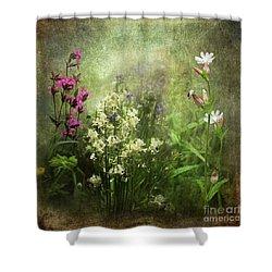 Wildflower Symphony Shower Curtain