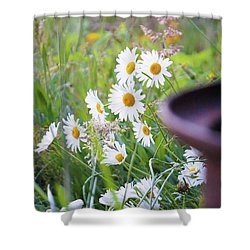 Wildflowers Shower Curtain by Angi Parks