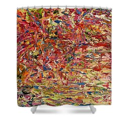 Wildflowers Dancing With The Light Shower Curtain