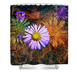 Wildflowers Shower Curtain by Ed Hall