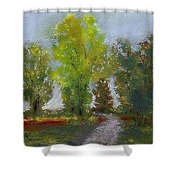 Wildlife Refuge Shower Curtain by David Patterson