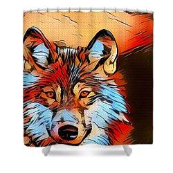 Wildlife Wolf 1 Shower Curtain