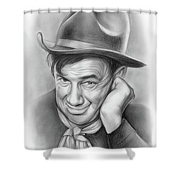 Will Rogers 10aug18 Shower Curtain