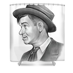 Will Rogers Shower Curtain