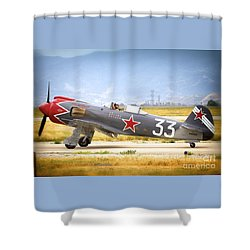 Will Whiteside And Steadfast Shower Curtain
