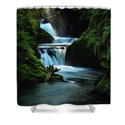 Lush Willaby  Shower Curtain