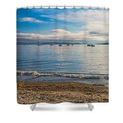 Willard Beach Shower Curtain