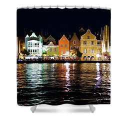 Shower Curtain featuring the photograph Willemstad, Island Of Curacoa by Kurt Van Wagner