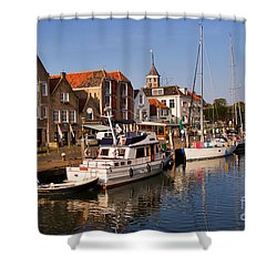 Willemstad Shower Curtain by Louise Heusinkveld