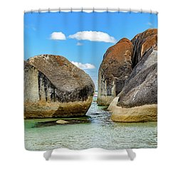 William Bay 2 Shower Curtain
