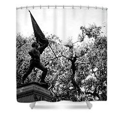 William Jasper Monument Shower Curtain