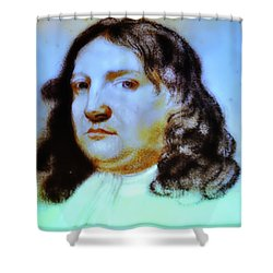 William Penn Portrait Shower Curtain by Bill Cannon