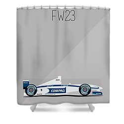 Williams Bmw Fw23 F1 Poster Shower Curtain