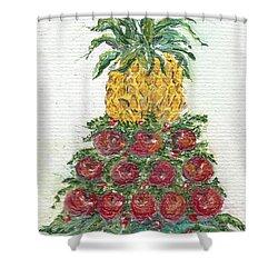 Williamsburg Apple Tree Shower Curtain