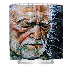 Willie Nelson 7 Shower Curtain