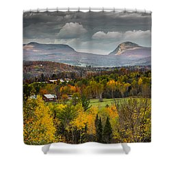 Willoughby Gap Late Fall Shower Curtain