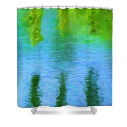 Willow Water Shower Curtain