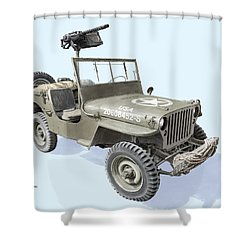 Willy Shower Curtain