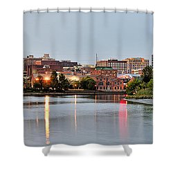 Wilmington Delaware At Dusk Shower Curtain