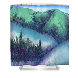Wilmore Wilderness Area Shower Curtain