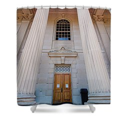 Wilson Library At Unc Chapel Hill Shower Curtain