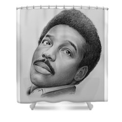 Wilson Pickett Shower Curtain