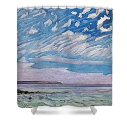 Wimpy Cold Front Shower Curtain