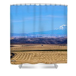Wind And Wheat Shower Curtain
