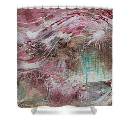 Wind Dance Shower Curtain by Mary Wolf