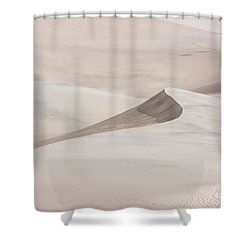 Shower Curtain featuring the photograph Wind Formations by Colleen Coccia
