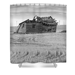 Shower Curtain featuring the photograph Wind On The Plains by Fran Riley