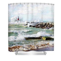 Wind Power Shower Curtain