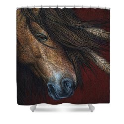 Wind River Shower Curtain
