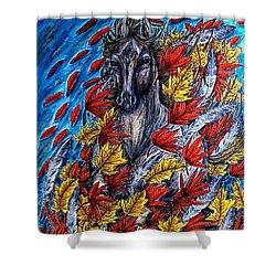 Wind Spirit Shower Curtain