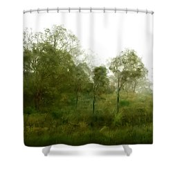 Wind Storm Shower Curtain