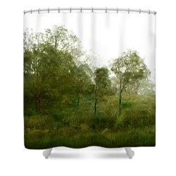 Wind Storm Shower Curtain