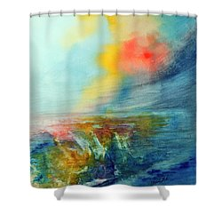 Wind Swept Shower Curtain