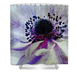 Windflower Shower Curtain by AugenWerk Susann Serfezi
