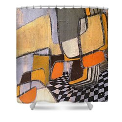 Winding Shower Curtain