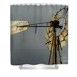 Windmill 1 Shower Curtain
