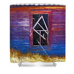 Shower Curtain featuring the photograph Window-1 by Susan Kinney