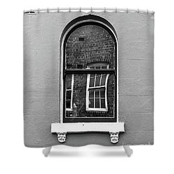 Shower Curtain featuring the photograph Window And Window by Perry Webster
