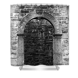 Window At Donegal Castle Ireland Shower Curtain