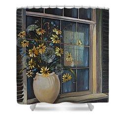 Window Dressing - Lmj Shower Curtain