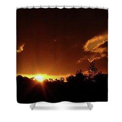 Window In The Sky Shower Curtain