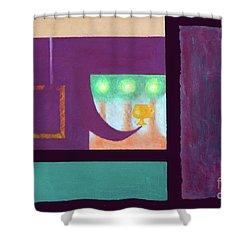 Window Seat Shower Curtain
