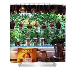Shower Curtain featuring the photograph Window Shopping by Joanne Coyle