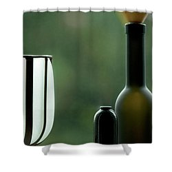 Window Sill Decoration Shower Curtain by Heiko Koehrer-Wagner