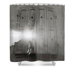 Window Street Shower Curtain