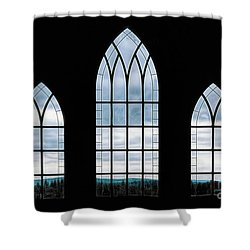 Shower Curtain featuring the photograph Window To God's Country by Brad Allen Fine Art